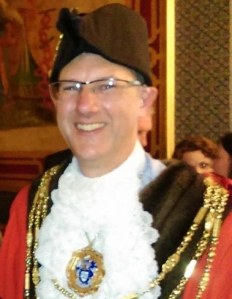 Cllr Pete West - new Mayor of Brighton and Hove